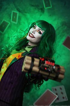 Female Joker cosplay 10