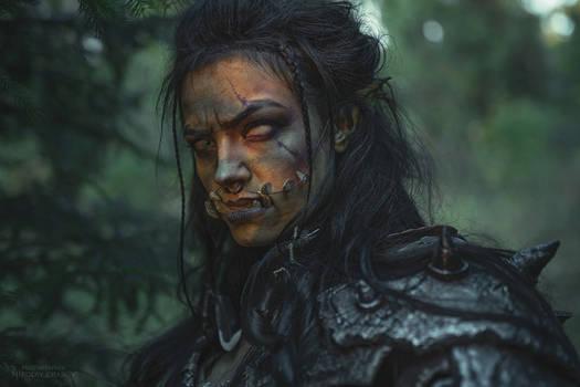 Original Orc cosplay