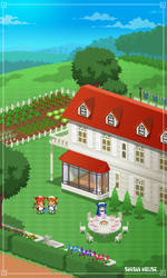 SHISUI HOUSE pixelart(original character)