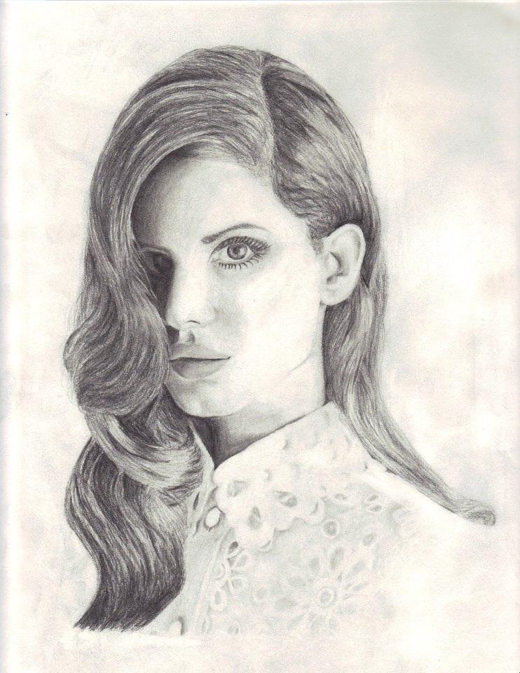 Lana Del Rey by LuvMangaFF7