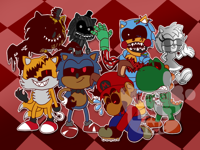 Five Nights At Sonic's 4 by klunsgod on DeviantArt
