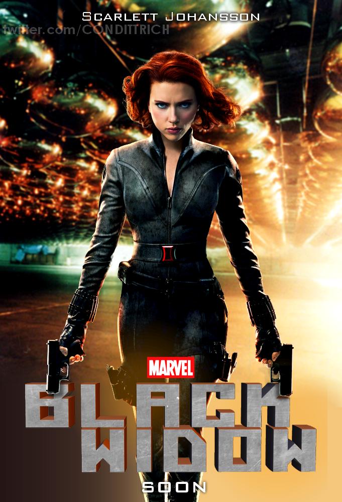 Black Widow movie poster by condittrich on DeviantArt