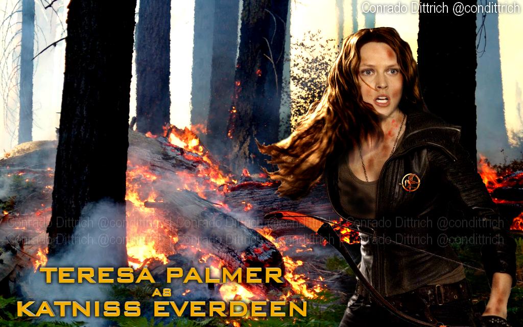 Teresa Palmer as Katniss Everdeen (Hunger Games) by ... I Am Number Four Movie Six