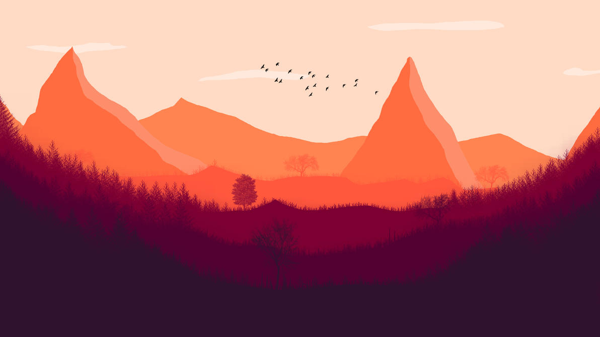 Firewatch Inspired Art By RizzlePixs