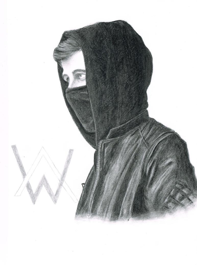 Alan Walker fan art by WerewolfPoland