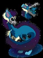 First ever noofle adopt Dark Galaxy (open) by AToasterThatBorks