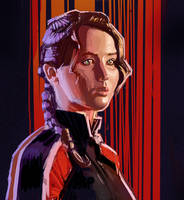 Katniss by amherman