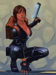 Lara Croft In Black