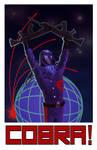 Cobra Commander Propaganda Poster