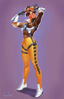 Tracer Pin Up by amherman