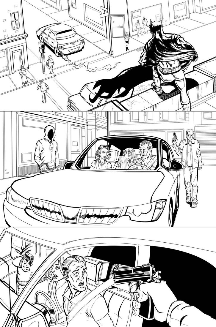 Batman page 01 by amherman