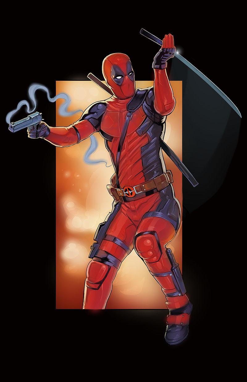 Deadpool by amherman