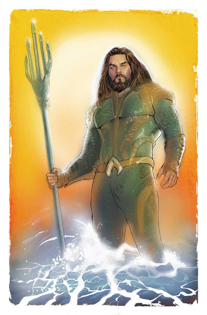 Aquaman by amherman
