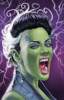 80s Bride of Frankenstein by amherman