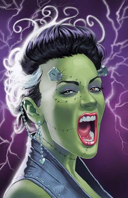 80s Bride of Frankenstein