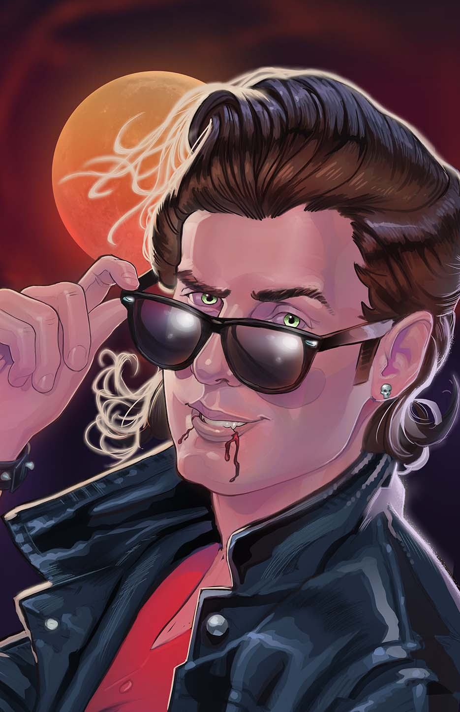 80s Dracula by amherman