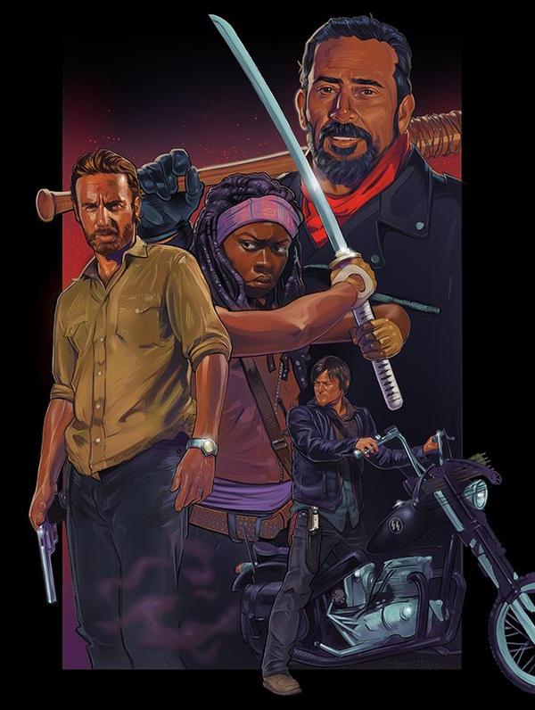 The Walking Dead by amherman