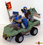 LEGO Halo Warthog