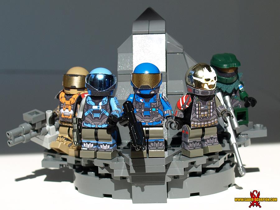 LEGO Noble Team by Saber-Scorpion on DeviantArt
