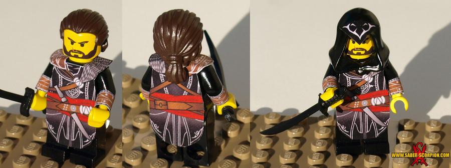 LEGO AC:R Ezio Minifig by Saber-Scorpion