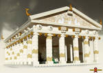 LEGO Temple of Athena 1