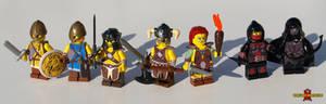 LEGO Skyrim Minifigs, set 1