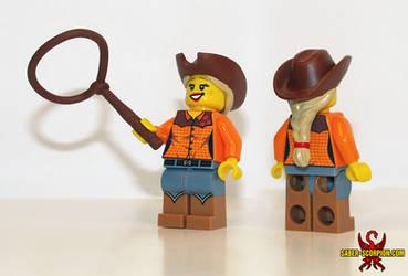 MLP: Applejack LEGO by Saber-Scorpion