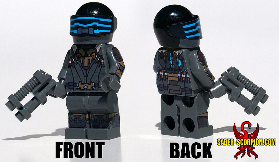 Dead Space 3 Isaac Clarke LEGO Minifig by Saber-Scorpion