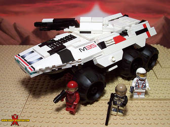 LEGO Mass Effect Mako Rover by Saber-Scorpion