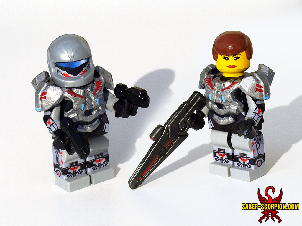 Custom lego sarah palmer halo 4 by saber scorpion on - Lego spartan halo ...