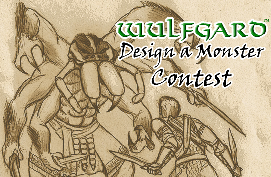 Contest Monster Design Banner by Saber-Scorpion
