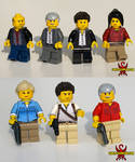 Uncharted 3: Drake's Deception LEGO Minifigs