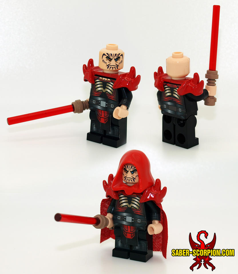 Darth Krayt Reborn Lego Minifig By Saber Scorpion On