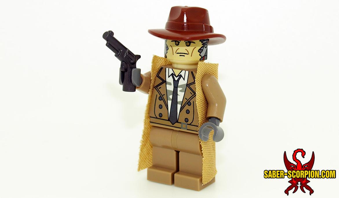 Nick Valentine LEGO Minifig By Saber Scorpion ...