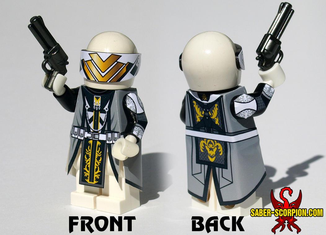 Destiny Warlock Custom LEGO Minifig by Saber-Scorpion