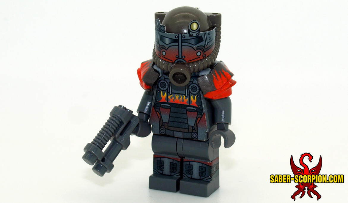 LEGO Fallout 4: Atom Cats Power Armor by Saber-Scorpion