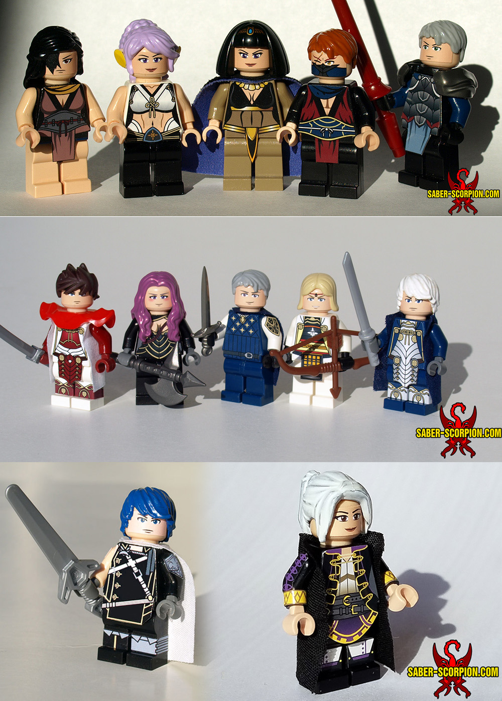 LEGO Fire Emblem by Saber-Scorpion