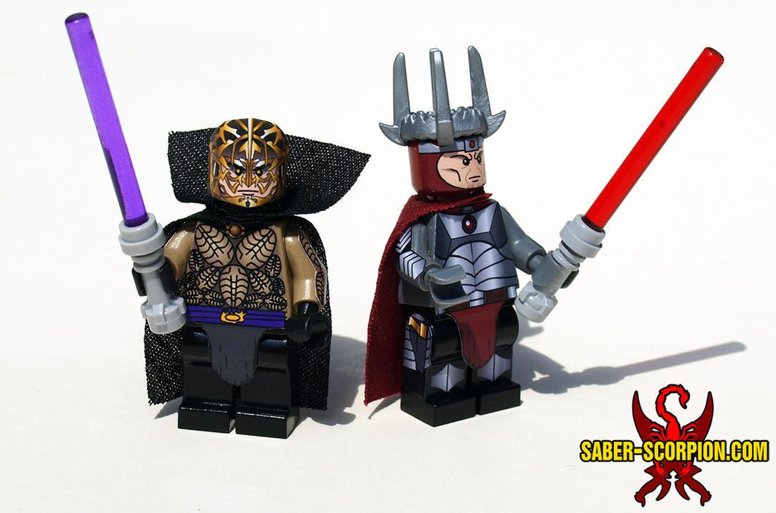 LEGO Star Wars: Darth Bane and Freedon Nadd by Saber-Scorpion