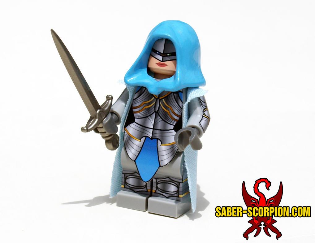 Princess Adrianya Skiera, Armored by Saber-Scorpion