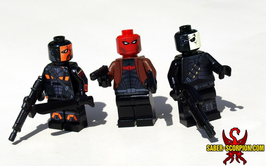 The Masked Mercenaries by Saber-Scorpion