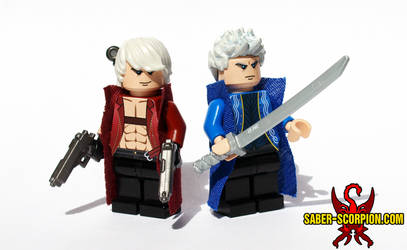 Dante and Vergil by Saber-Scorpion