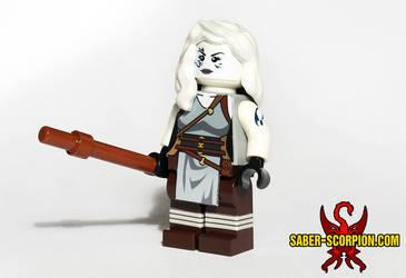 LEGO Commission: Jarael by Saber-Scorpion