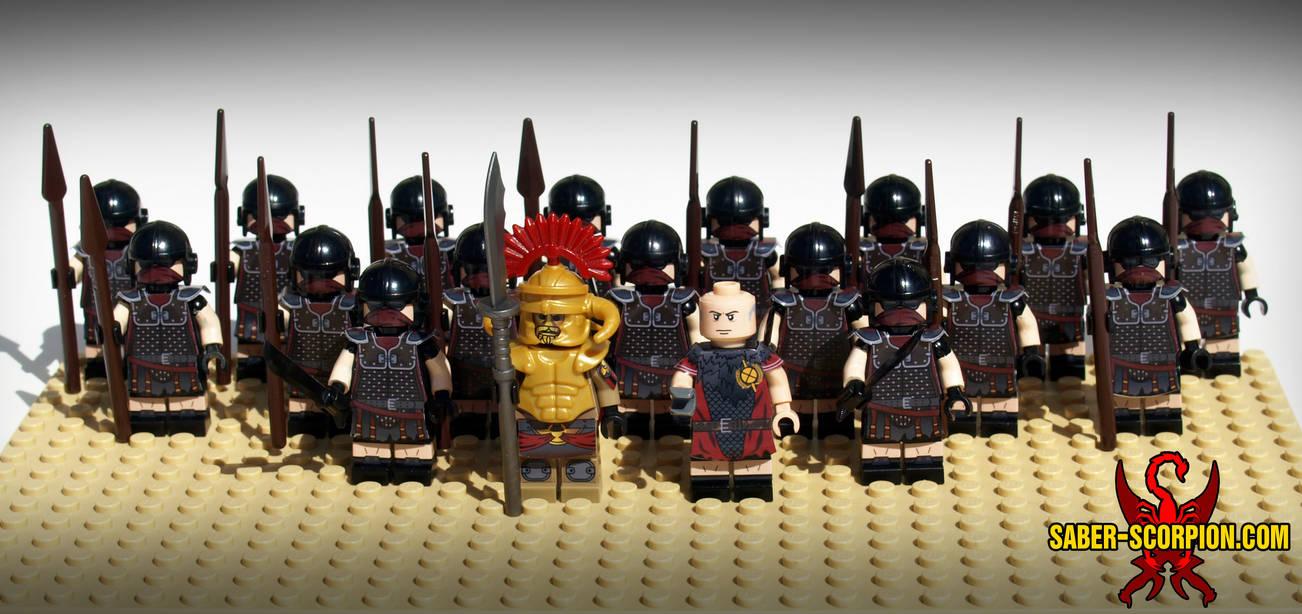 LEGO Caesar's Legion by Saber-Scorpion