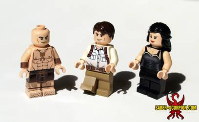 The Mummy Adventurers Custom LEGO Minifigures