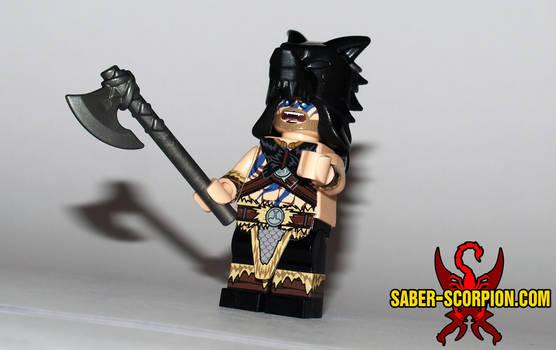 Viking Berserker Custom LEGO Minifig