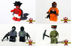 Various LEGO Minifig Commissions