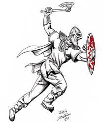 Inktober: Viking