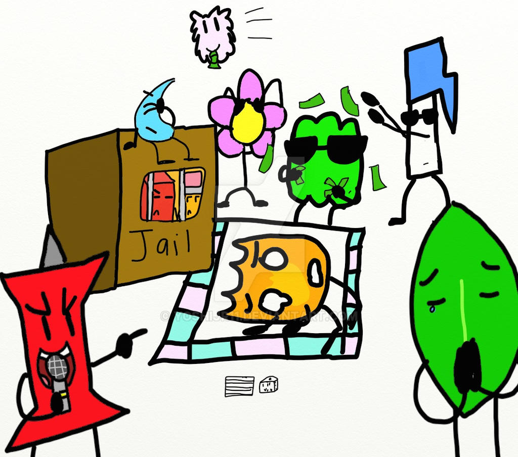 A Friendly Game Of Monopoly (bfdi) By YoshiJr11 On DeviantArt