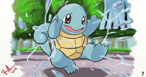 7 Squirtle by ArtDean1992
