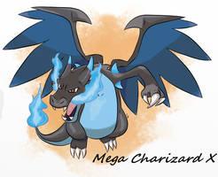 Mega Charizard X by ArtDean1992